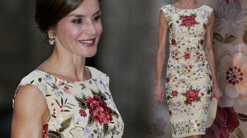 El mantón de 2.500 € con el que Letizia consiguió uno de sus looks más alabados
