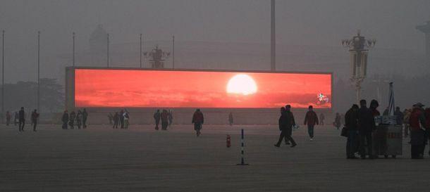 Foto: China, el país de la tos naciente