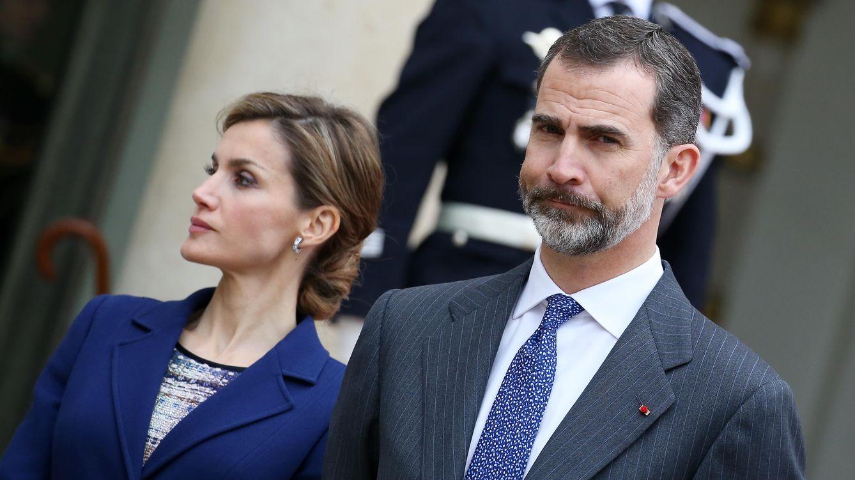 Foto: Don Felipe y Doña Letizia en su primer y truncado viaje a Francia (Gtres)