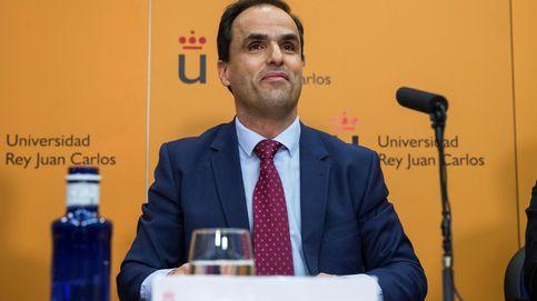 Movilización de los alumnos de la URJC para reactivar la moción y echar al rector