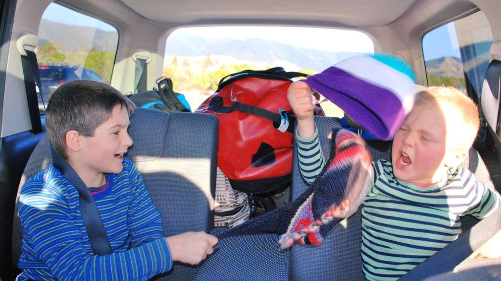 Los trucos para entretener a tus hijos en los viajes en coche