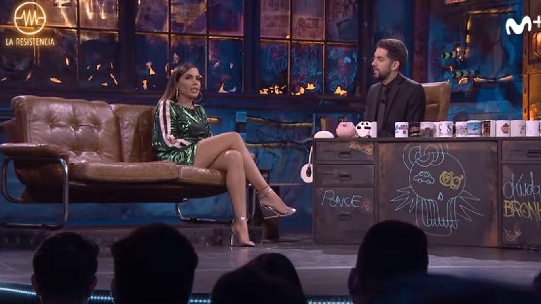 Anitta protagoniza la entrevista más escatológica de Broncano en 'La Resistencia'