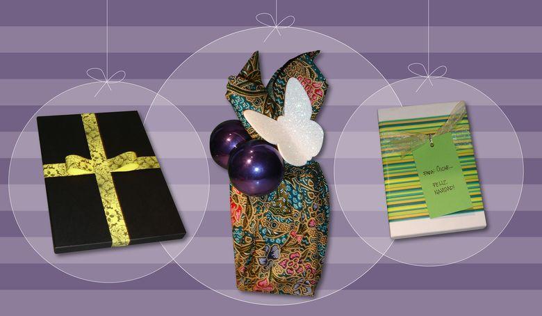 Foto: Tres ideas rápidas y originales para empaquetar tus regalos