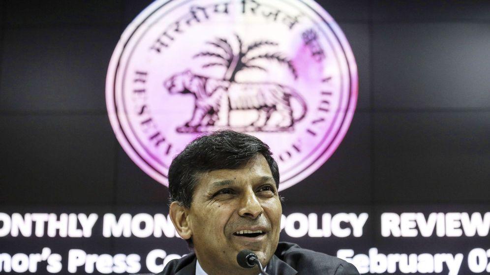 Foto:  El gobernador del Banco Reserva de la India (RBI), Raghuram Rajan. (EFE)