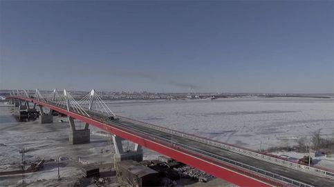 Rusia y China terminan un puente de 322 millones de euros que va a unir ambos países