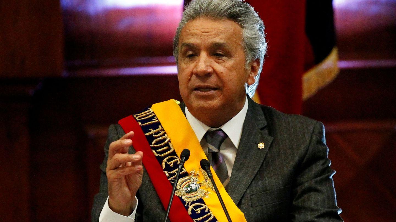 El presidente de Ecuador, Lenin Moreno, en mayo de 2018. (Reuters)