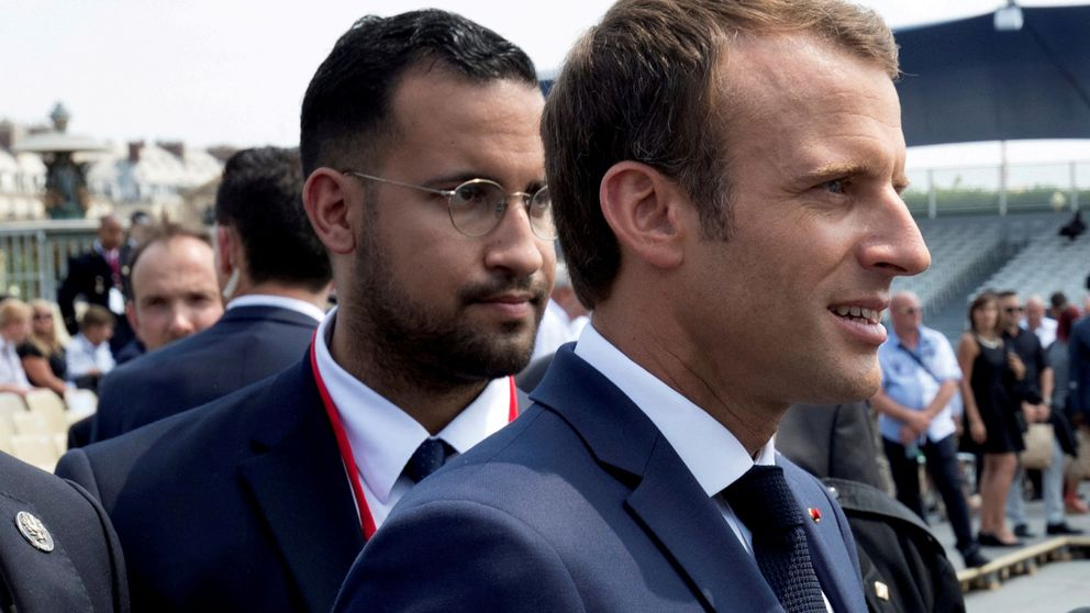 ¿Por qué Macron protege aún a Benalla? La hora más difícil del presidente francés