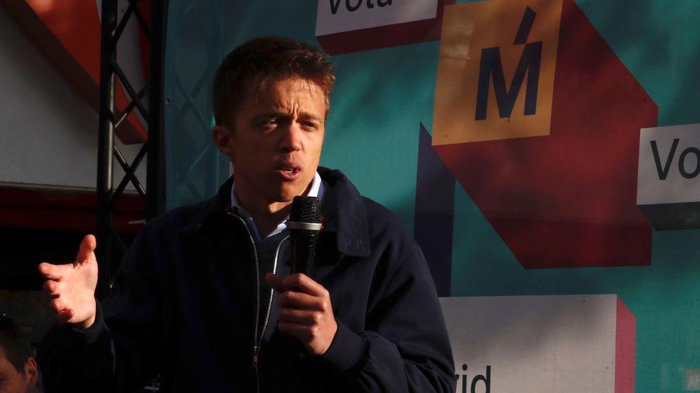 Foto: El candidato de Más Madrid a la Comunidad, Íñigo Errejón (Efe)