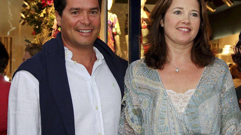 Carlos Morales y Alexia de Grecia, en Lanzarote. (EFE)