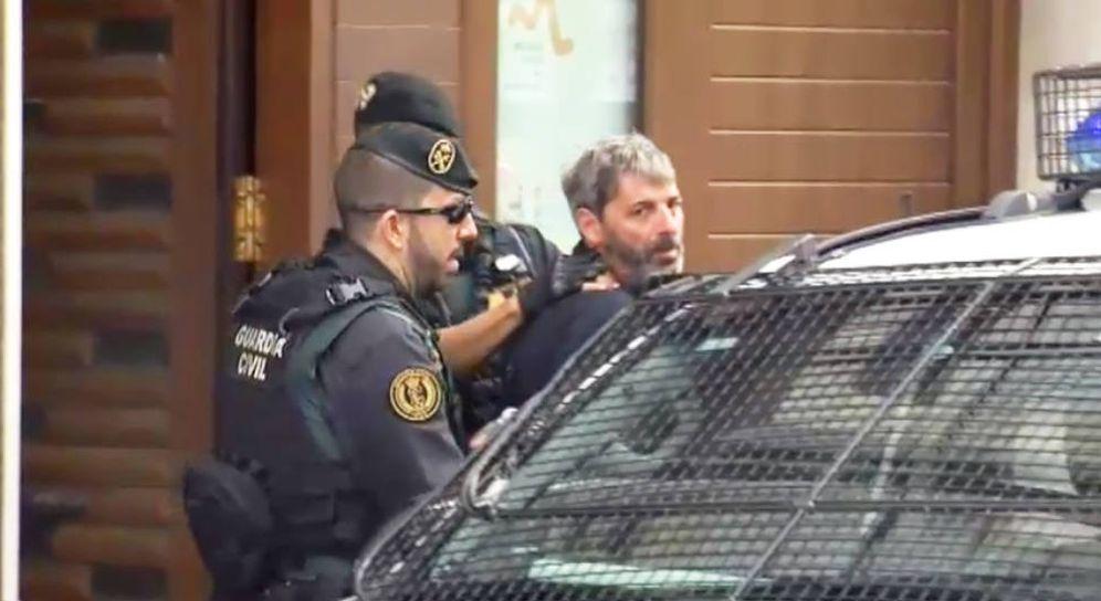 Foto: Xavier Duch, durante su detención. (ATLAS)