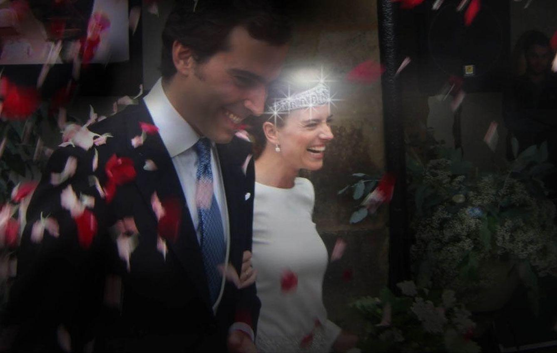 Foto: Hilda Armada Falcó en el día de su boda