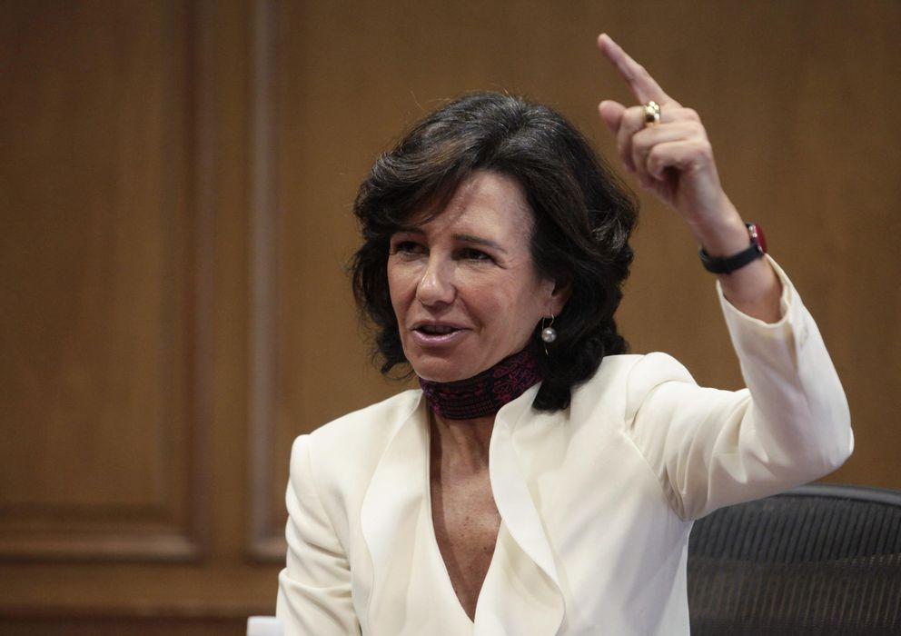 Foto: Ana Botín, presidenta del Banco Santander