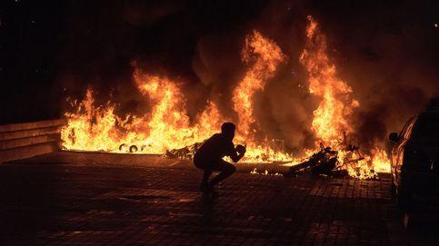 Los disturbios de partidarios de Pablo Hasél incendian el post 14-F