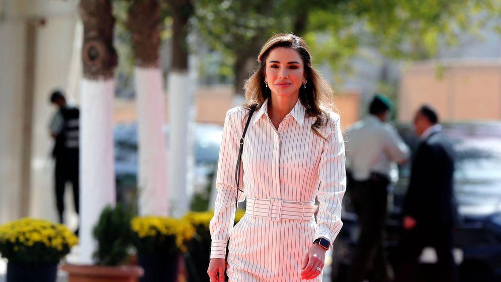 Foto:  La reina Rania en una imagen de archivo. (Reuters)