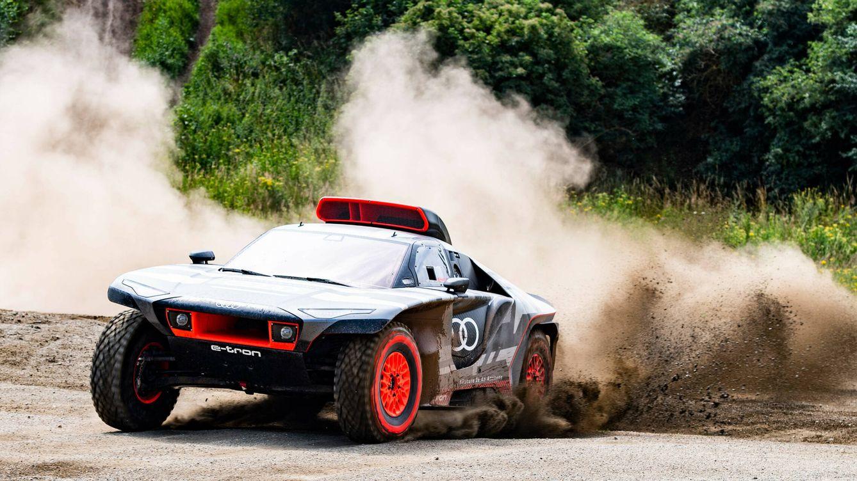 Así es el coche 'casi' eléctrico con el que Audi quiere ganar el próximo Rally Dakar