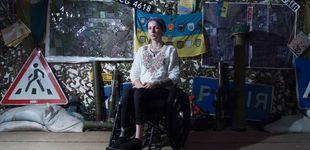 Post de Esta joven en silla de ruedas salva vidas en el frente de Ucrania