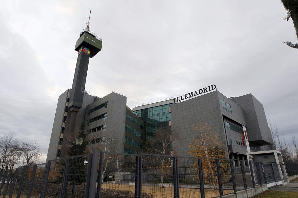 Foto: Sede de Telemadrid, en la Ciudad de la Imagen de Pozuelo. (EFE)