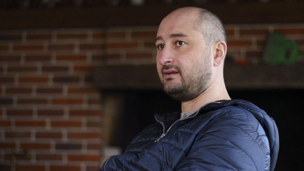 El escritor Arkadi Bábchenko reaparece en televisión tras fingir su propia muerte