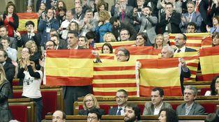 9N en el Parlament: Cataluña se hace a sí misma la secesión