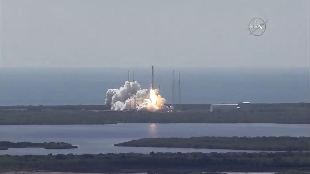 Explota un cohete no tripulado de la compañía SpaceX en su viaje al espacio