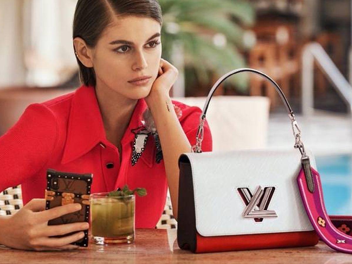 Foto: Kaia Gerber para Louis Vuitton. (Getty)
