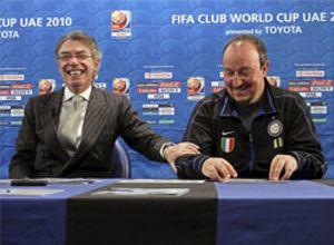 """Moratti: """"Somos grandes aficionados de Mourinho"""""""