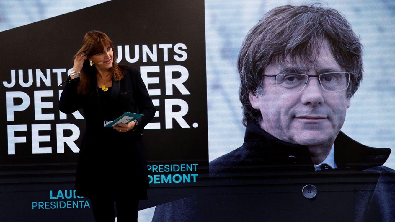 Puigdemont pidió a Borràs apartarse del Govern y ejercer la presidencia del Parlament