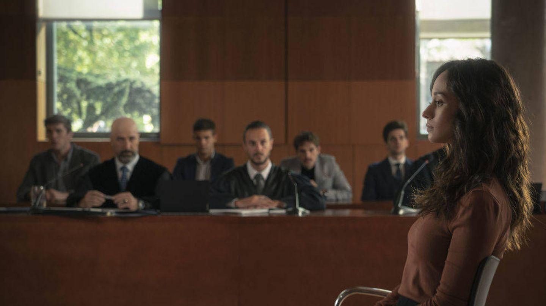 Elena Rivera en una escena de 'Alba'. (Atresmedia)