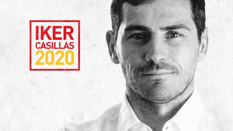 Imagen de la candidatura de Iker Casillas a la presidencia de la RFEF