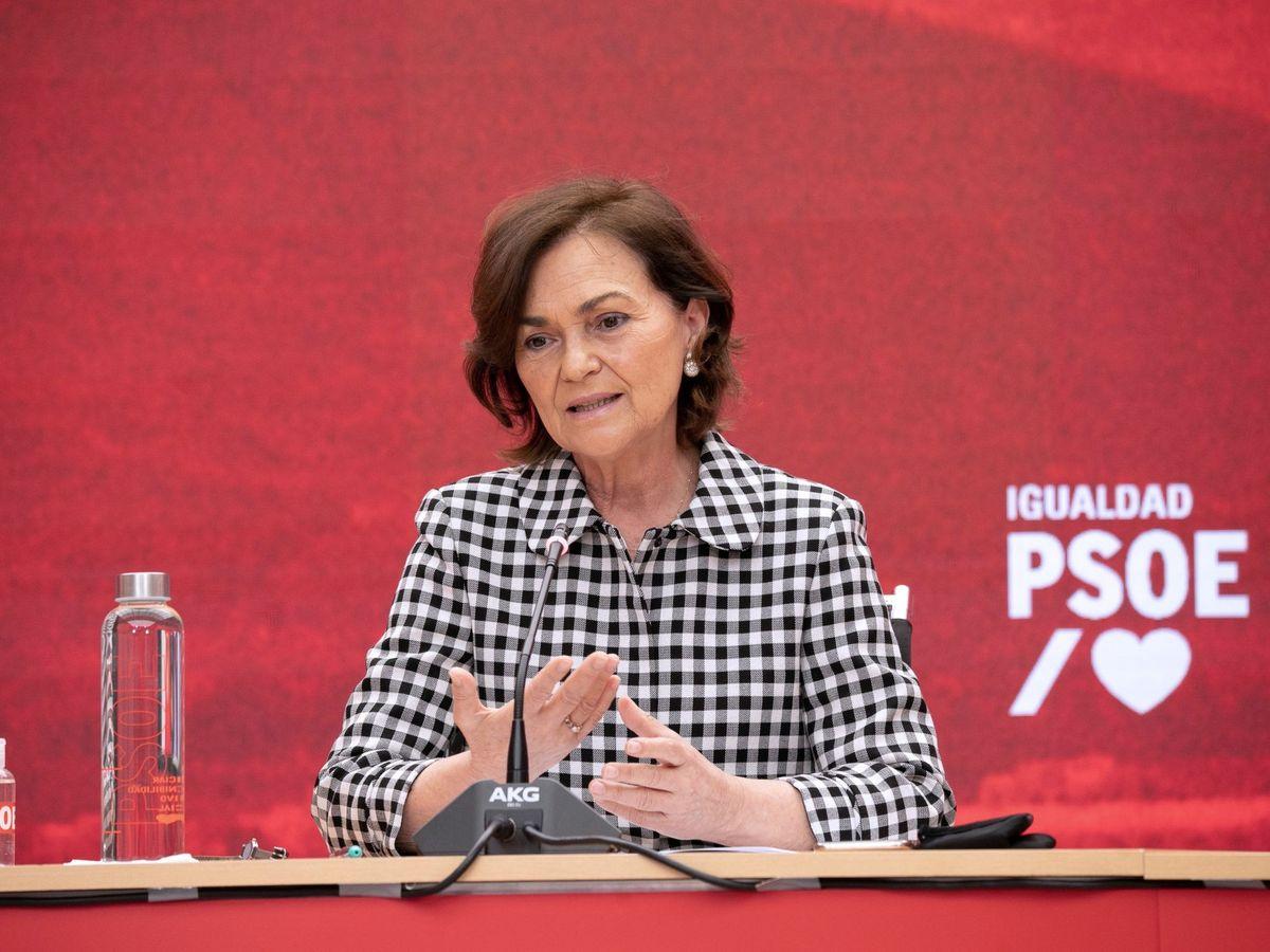 Foto: La vicepresidenta del Gobierno, Carmen Calvo. (EFE)