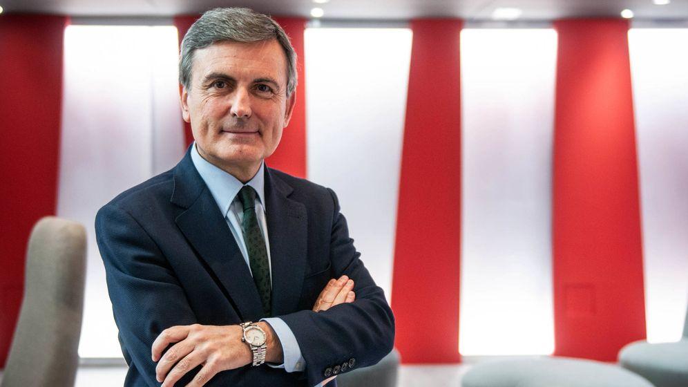 Foto: El portavoz económico del PSOE y secretario de Estado de Infraestructuras, Pedro Saura. (Carmen Castellón)