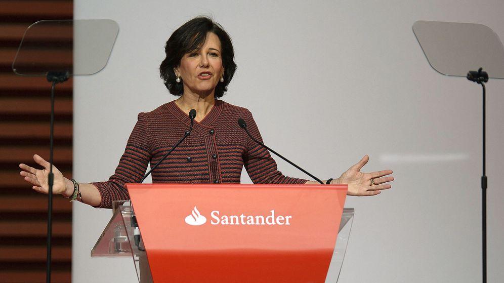 Foto: La presidenta del Banco Santander, Ana Botín. (EFE)