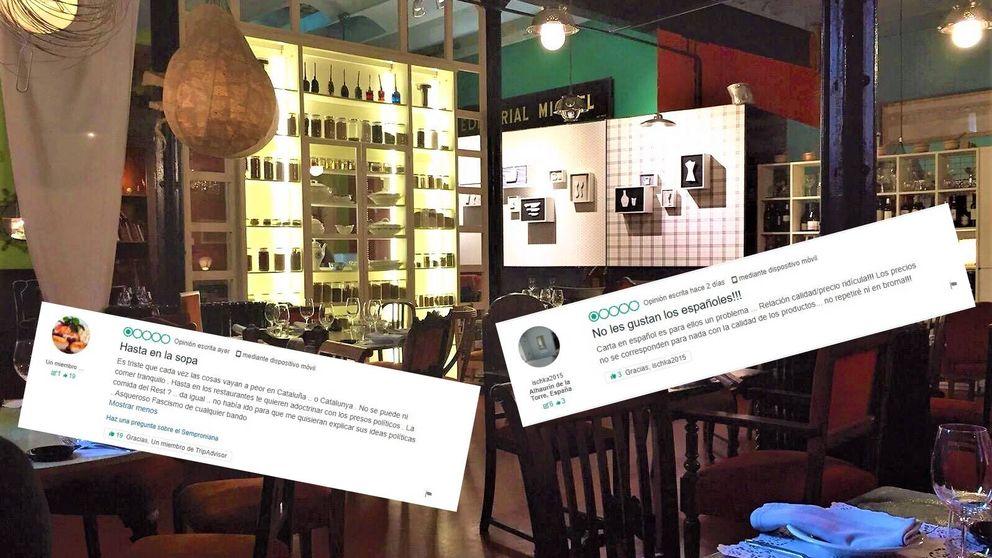Boicot en TripAdvisor por organizar una cena en solidaridad de 'presos políticos'