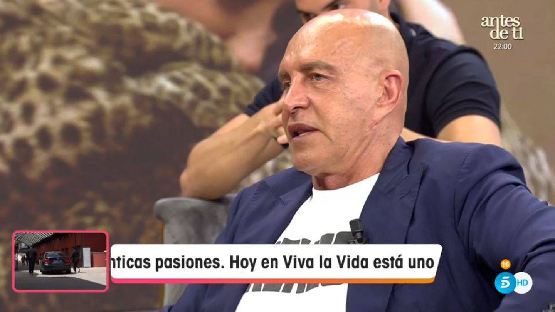 Kiko Matamoros, en 'Viva la vida'. (Mediaset España)