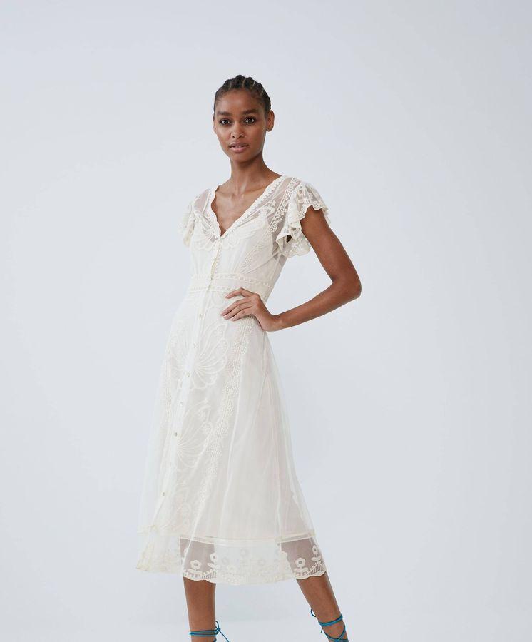 Foto: ¿Será este tu vestido soñado? (Cortesía Zara)