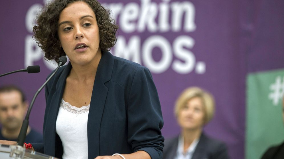 Foto: La secretaria general de Podemos en el País Vasco, Nagua Alba. (EFE)