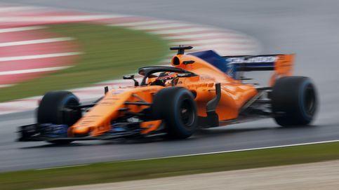 Hamilton es el más rápido el día que McLaren respiró de tranquilidad
