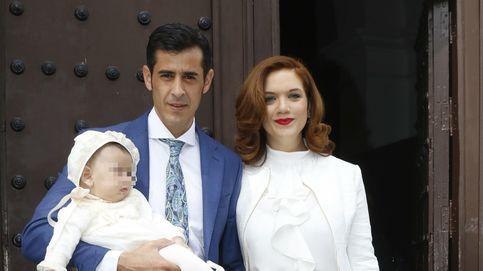 Tamara Gorro, los Janeiro al completo... Así fue el bautizo de Víctor Janeiro Trapote