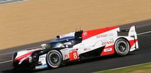 Post de Toyota y Alonso marcan el mejor tiempo en la primera clasificación de Le Mans