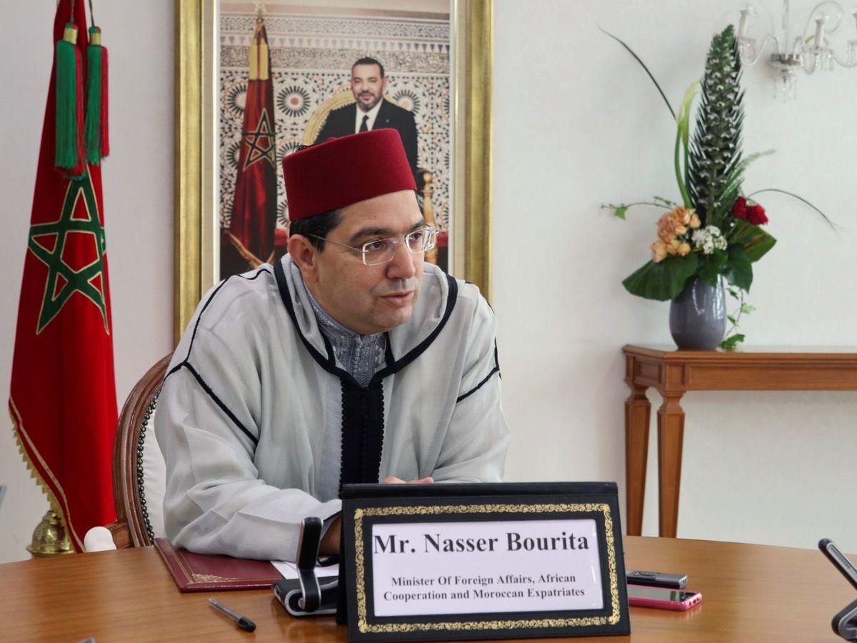 Foto: El ministro de Exteriores marroquí, Nasar Burita. (EFE)