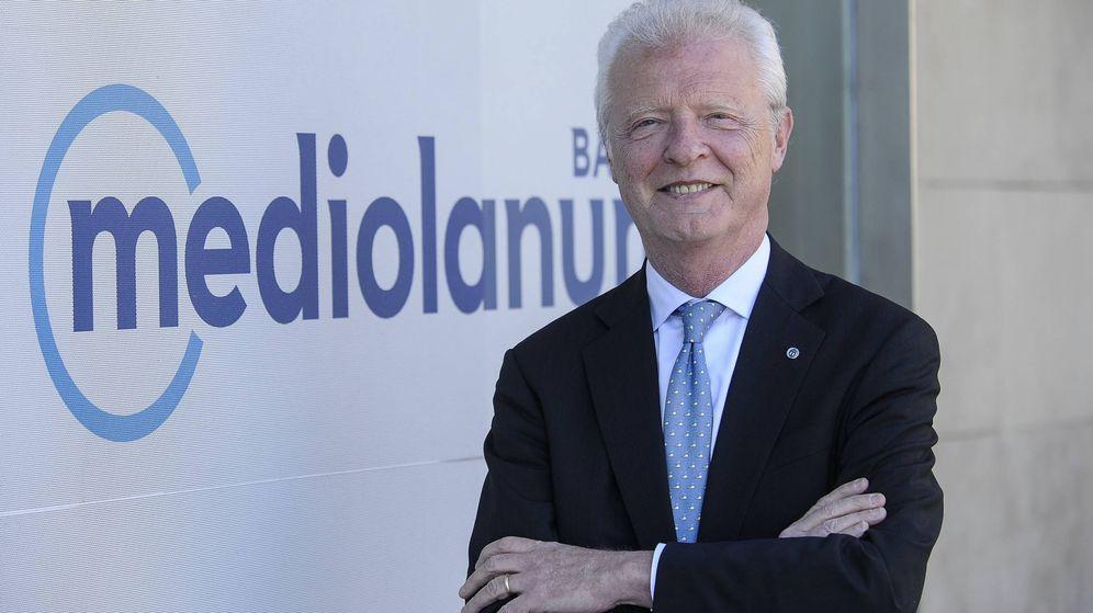 Foto: Vittorio Colusi, CEO de Banco Mediolanum.