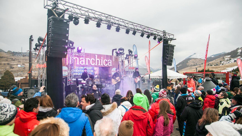 Foto: El Marchica, en Formigal, ofrece posiblemente el après ski más famoso de toda España (Foto: Aramón)