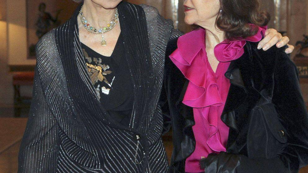 La reina Sofía, invitada de su amiga Silvia de Suecia en Estocolmo