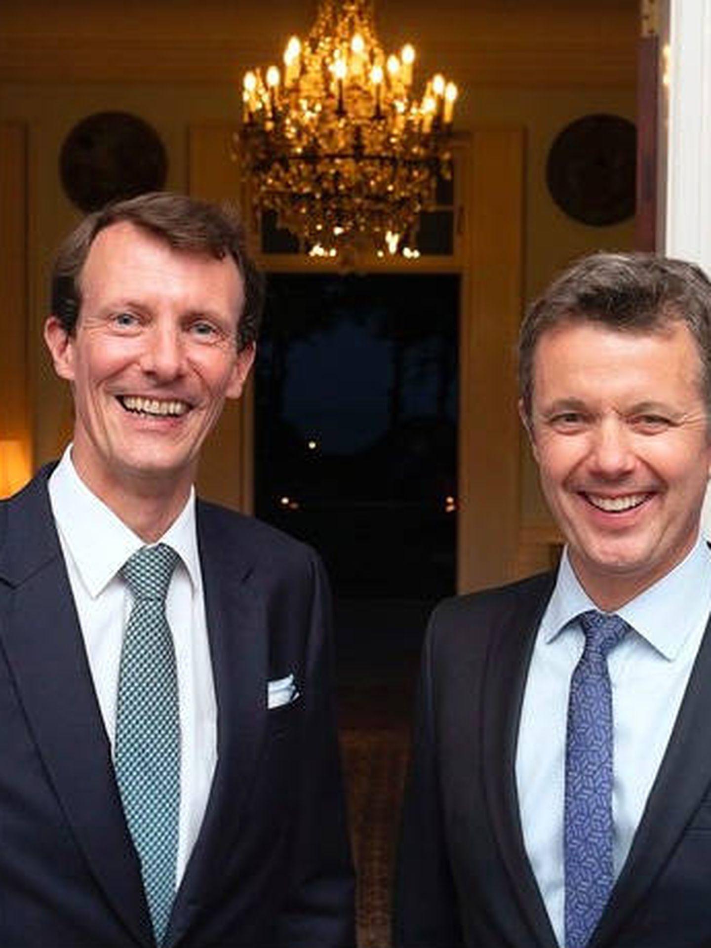 Los hermanos Federico y Joaquín de Dinamarca. (Keld Navntoft, Casa Real de Dinamarca)
