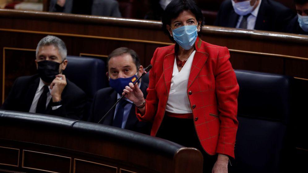 Foto: La ministra de Educación, Isabel Celaá, impulsora del proyecto de ley pactado. (EFE)