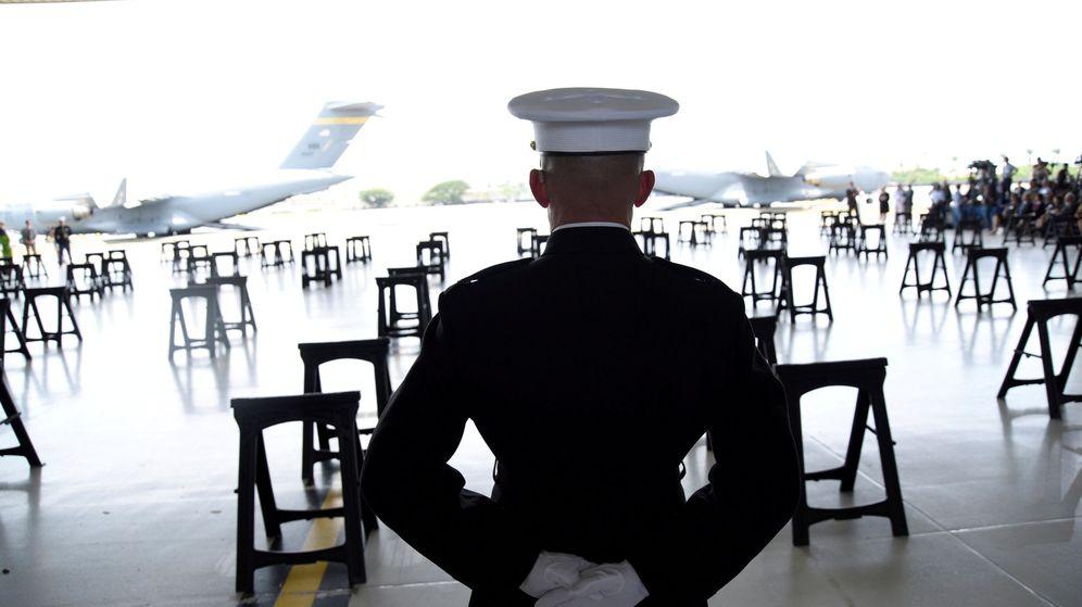 Foto: Un marine en la base militar de Pearl Harbor, en Hawái. (Reuters)