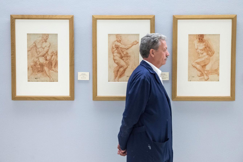 Arte las joyas exiliadas del dibujo espa ol a la galer a - Fotografia desnudo masculino ...