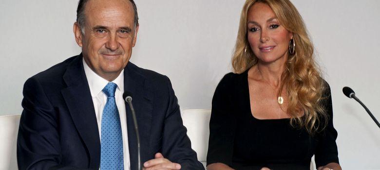 Foto: Juan Béjar, vicepresidente de FCC, y Esther Alcocer Koplowitz, presidenta (EFE)