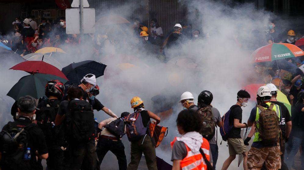 Foto: Protestas por nueva ley en Hong Kong. (Reuters)