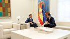 Rivera advierte a Sánchez de que le hará marcaje en la oposición y le pide un 155 ya
